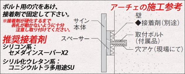 アーチェの施工参考