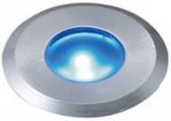 ガーデンデッキライト1型(シルバー) 青