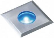 ガーデンデッキライト2型 シルバー 青