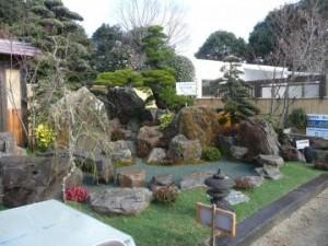 ガーデンの展示1