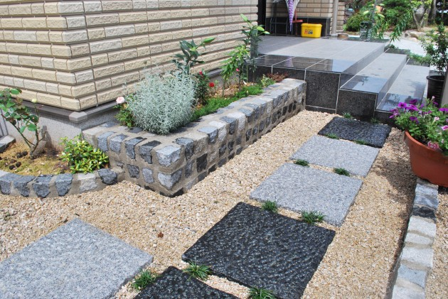 坪庭風のガーデンスペース
