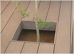 樹の木 くりぬき部幕板固定金具セット