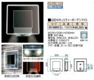 LEDセキュリティーガーデンライト