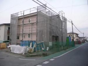 エクステリア工事現場調査