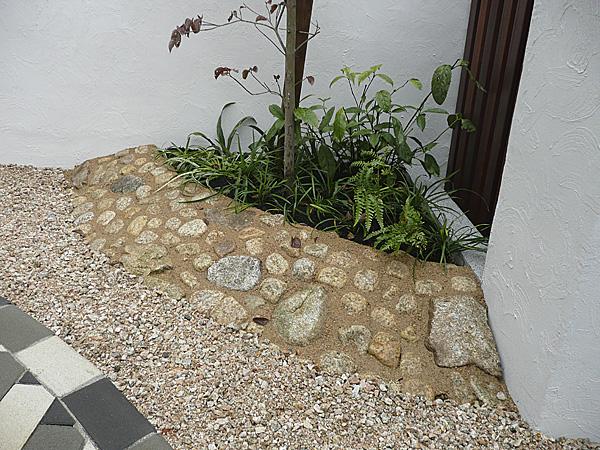 個性的な花壇