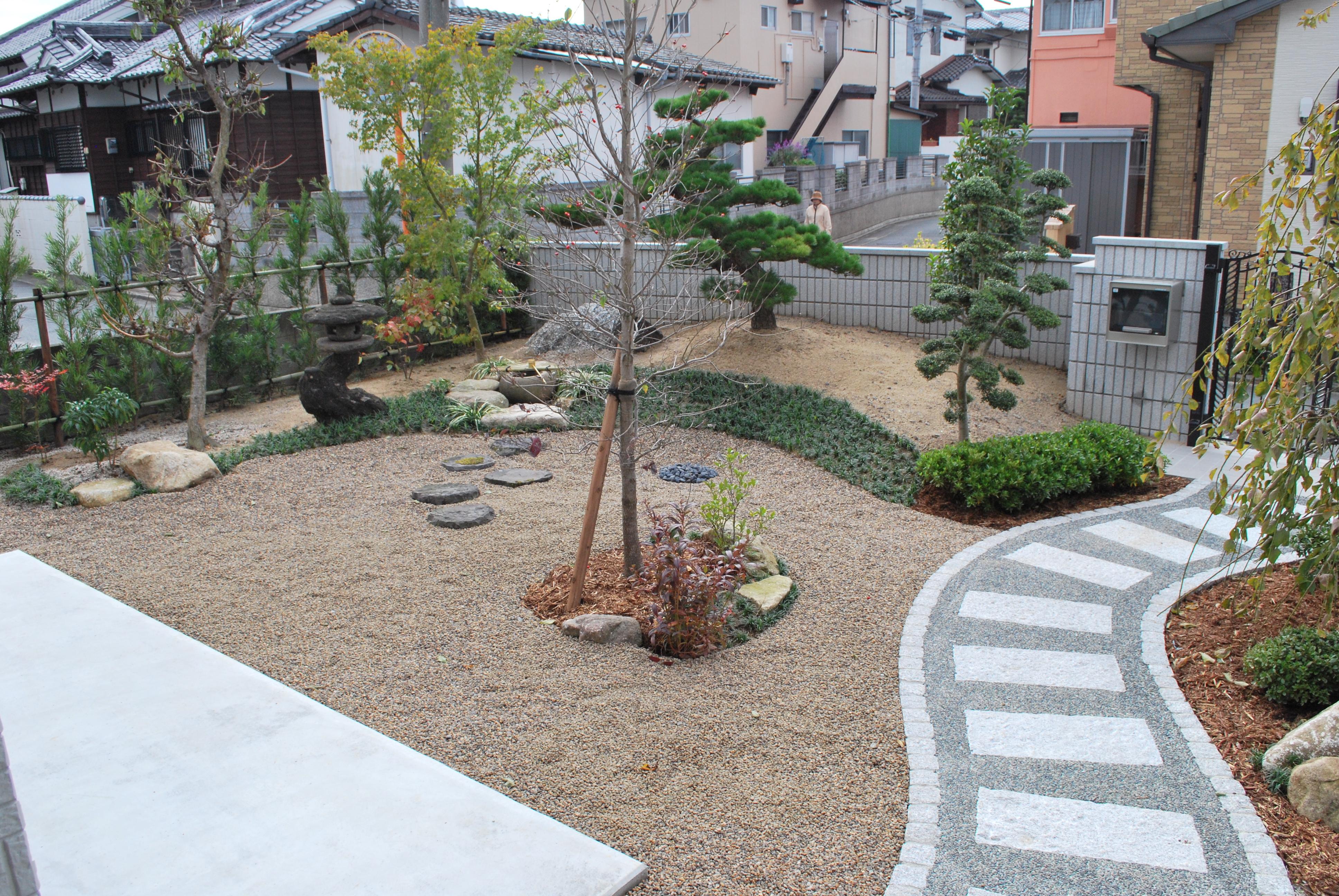 和風庭園 外構工事 久留米市 Y様邸